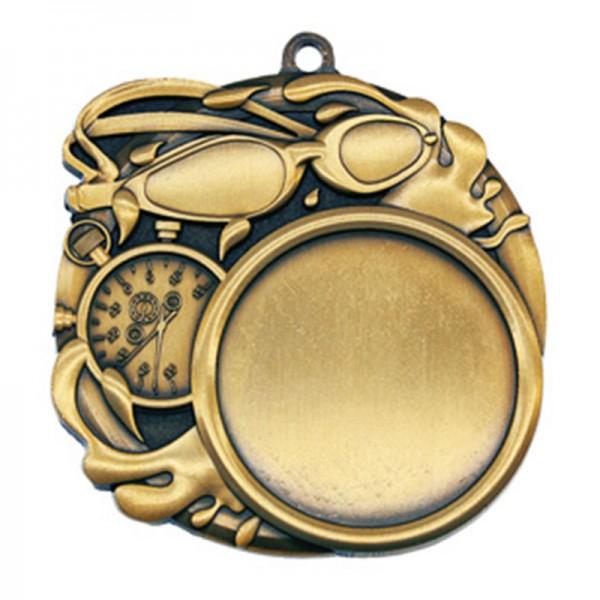 Médaille Or Natation 2 1/2 po MSI-2514G