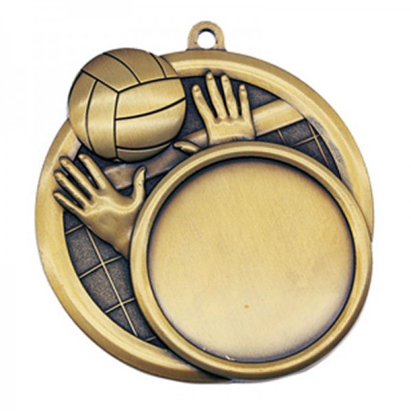 Médaille Or Volleyball 2 1/2 po MSI-2517G