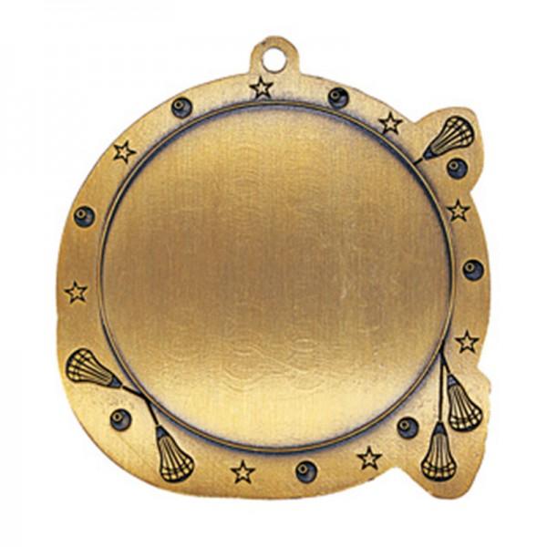 Médaille Lacrosse 2 1/2 po MSI-2528-VERSO