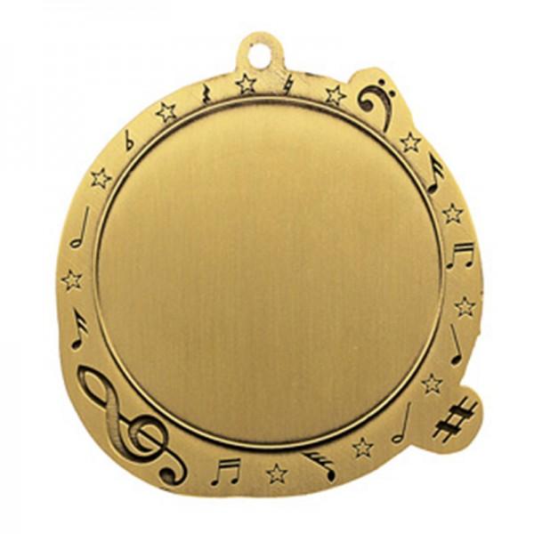 Médaille Bronze Musique 2 1/2 po MSI-2530Z
