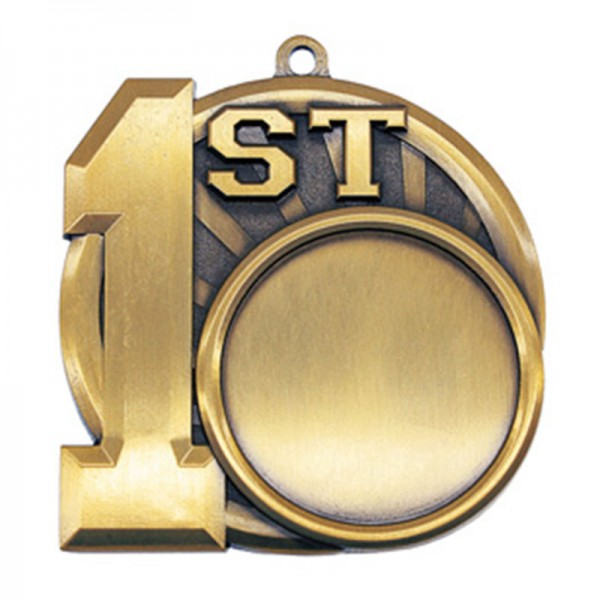 Médaille 1ère Position 2 1/2 po MSI-2591