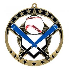 Baseball Gold Medal 2 3/4 in MSE632G