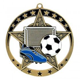 Médaille Or Soccer 2 3/4 po MSE633G