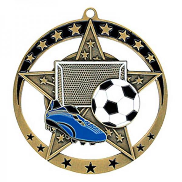 Soccer Gold Medal 2 3/4 in MSE633G