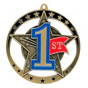 Médaille 1ère Position 2 3/4 po MSE645