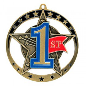 1st Position Medal 2 3/4 in MSE645