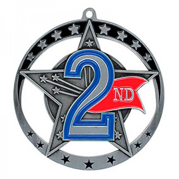 2nd Position Medal 2 3/4 in MSE646
