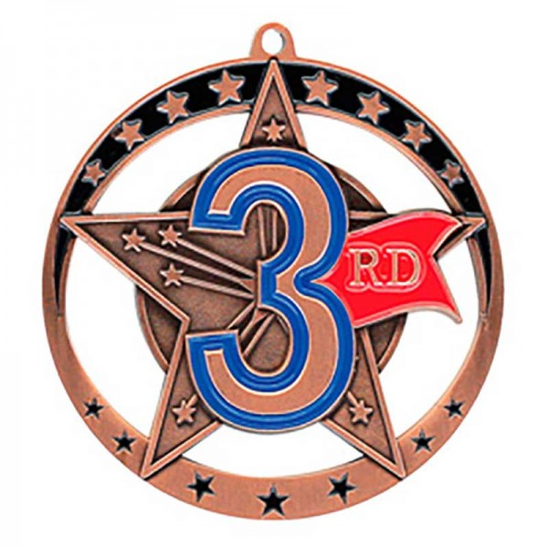 3rd Position Medal 2 3/4 in MSE647