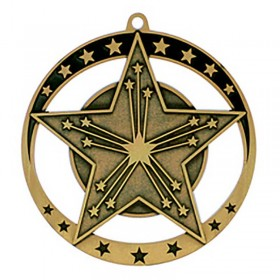 Médaille Or Victoire 2 3/4 po MSE648G