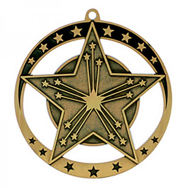 Victory Gold Medal 2 3/4 in MSE648G