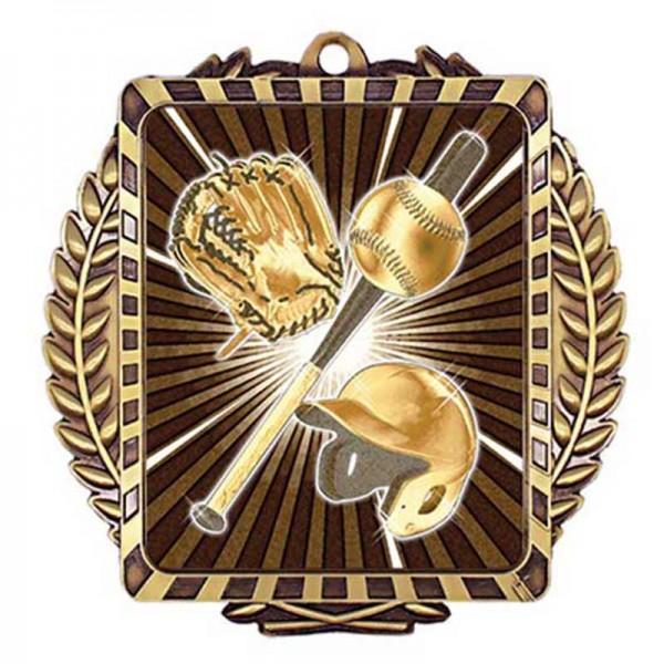 Baseball Gold Medal 3 1/2 in MML6002G