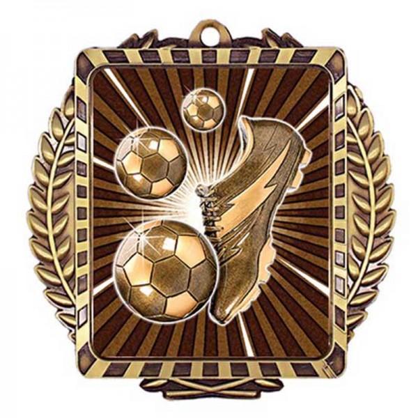 Médaille Or Soccer 3 1/2 po MML6013G
