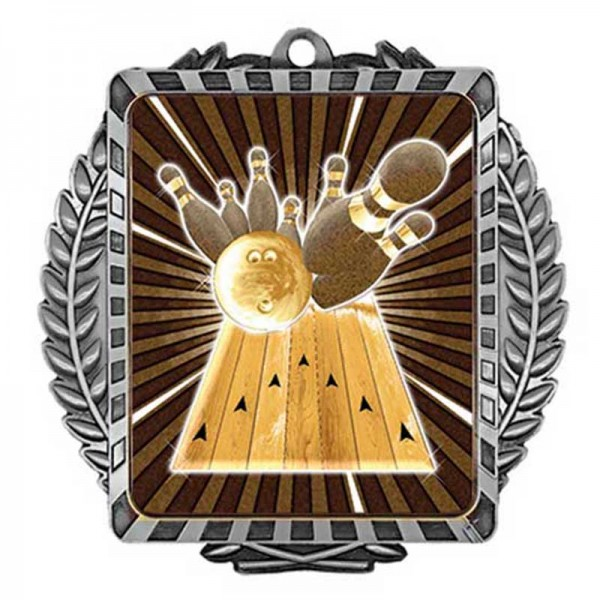 Bowling Argent Medal 3 1/2 in MML6004S