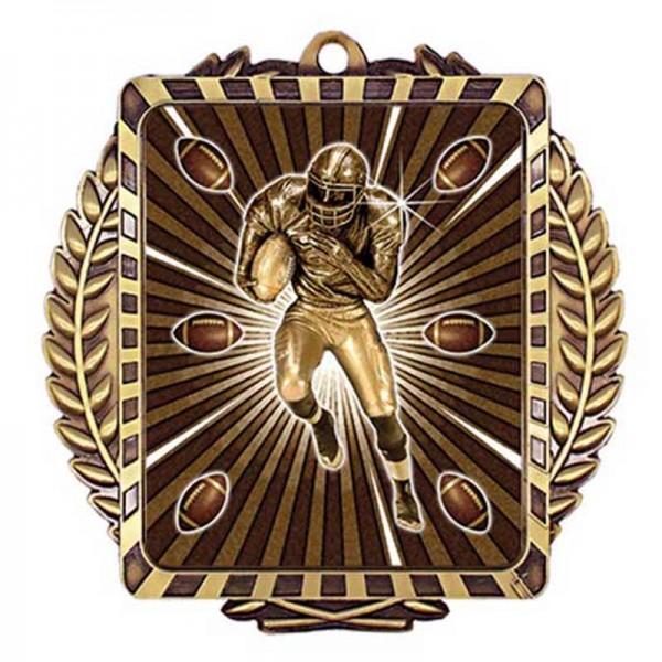 Médaille Or Football 3 1/2 po MML6007G