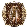 Médaille Or Boxe 3 1/2 po MML6009G