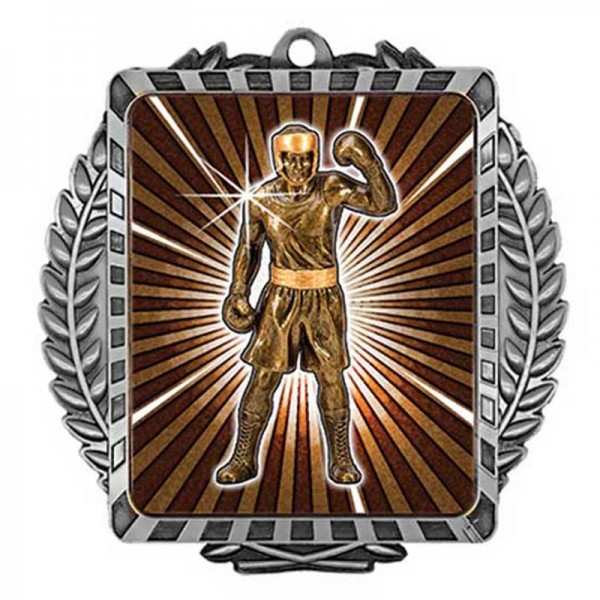 Boxing Argent Medal 3 1/2 in MML6009S