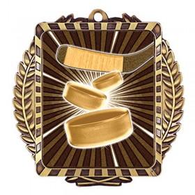 Médaille Or Hockey 3 1/2 po MML6010G