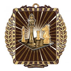 Chess Gold Medal 3 1/2 in MML6011G