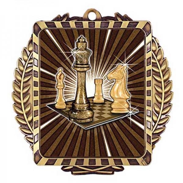 Chess Gold Medal 3 1/2 in MML6011G