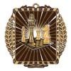 Médaille Or Échec 3 1/2 po MML6011G