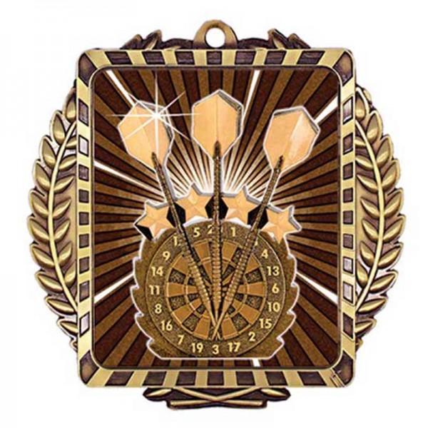 Darts Gold Medal 3 1/2 in MML6014G
