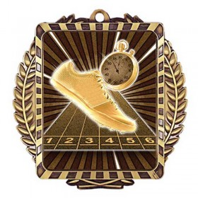Médaille Or Course sur Piste 3 1/2 po MML6016G