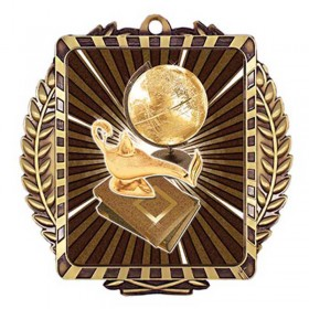 Médaille Or Académique 3 1/2 po MML6025G
