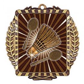 Médaille Or Badminton 3 1/2 po MML6027G