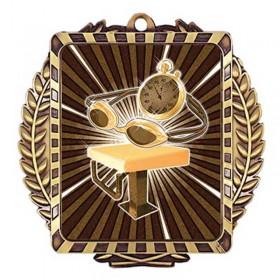 Médaille Or Natation 3 1/2 po MML6033G