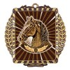 Médaille Or Équitation 3 1/2 po MML6043G