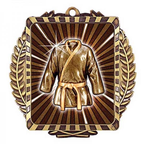 Martial Arts Gold Medal 3 1/2 in MML6051G