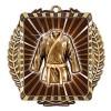 Médaille Or Arts Martiaux 3 1/2 po MML6051G