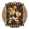 Médaille Or Joueur Hockey 3 1/2 po MML6054G