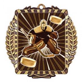 Médaille Or Gardien de but 3 1/2 po MML6055G