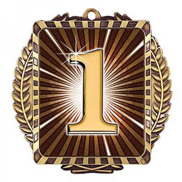 1st Position Medal 3 1/2 in MML6091