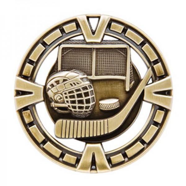 Médaille Or Hockey 2 1/2 po MSP410G