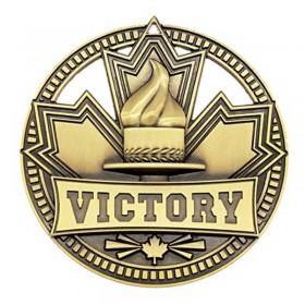Médaille Or Victoire 2 3/4 po MSN501G