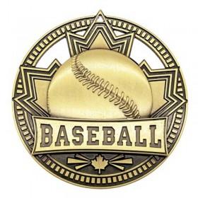Médaille Or Baseball 2 3/4 po MSN502G