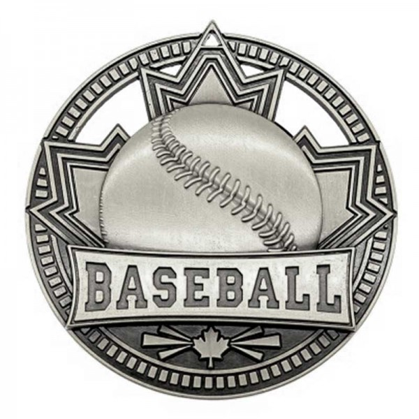 Baseball Silver Medal 2 3/4 in MSN502S