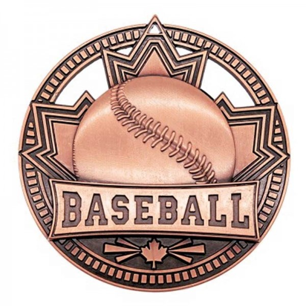 Baseball Bronze Medal 2 3/4 in MSN502Z