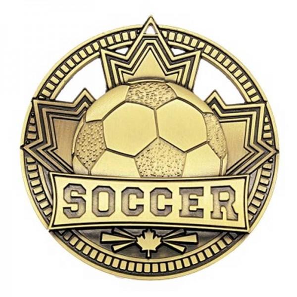 Soccer Gold Medal 2 3/4 in MSN513G