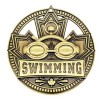 Swimming Gold Medal 2 3/4 in MSN514G