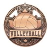 Médaille Bronze Volleyball 2 3/4 po MSN517Z