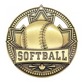 Softball Gold Medal 2 3/4 in MSN526G