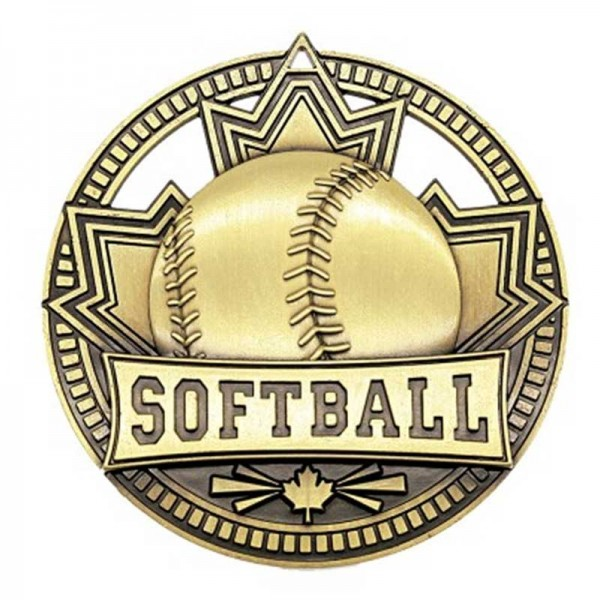 Softball Gold Medal 2 3/4 in MSN526G