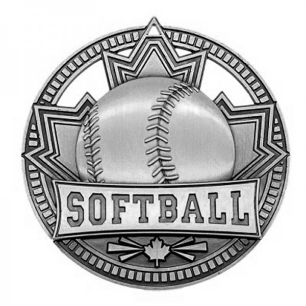 Softball Argent Medal 2 3/4 in MSN526S