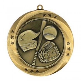 Baseball Gold Medal 2 3/4 in MMI54902G