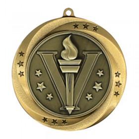Médaille Or Victoire 2 3/4 po MMI54901G