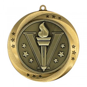 Victory Gold Medal 2 3/4 in MMI54901-G