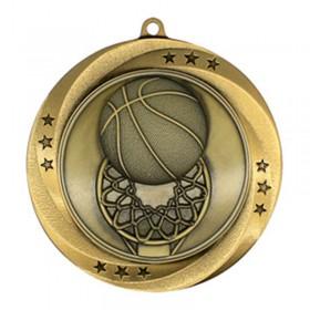 Basketball Gold Medal 2 3/4 in MMI54903G
